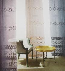 暖暖風情臥室三色-窗簾布