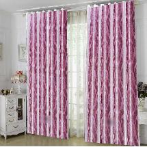 素色壓紋-三明治遮光窗簾1010916-窗簾布