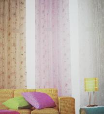 暖暖簡單三色-窗簾布