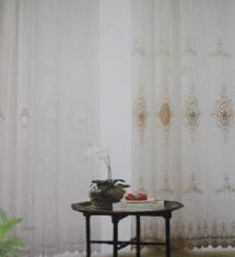 經典尊貴花紋2-窗簾布