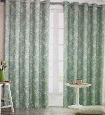 傳統百搭綠-窗簾布