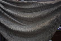 深灰簡約線條-窗簾布