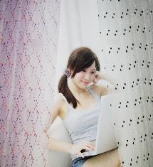 少女臥室二色-窗簾布