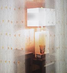 經典臥室白紗-窗簾布