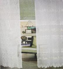 臥室亮白奢華2-窗簾布