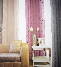 經典奢華客廳三色-窗簾布