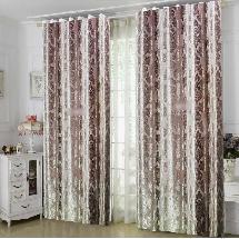 素色壓紋-三明治遮光窗簾1011016-窗簾布