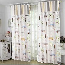 可愛兒童圖案1-三明治遮光窗簾布179376-窗簾布