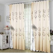 簡約樹木線條2-三明治遮光窗簾布315309-窗簾布