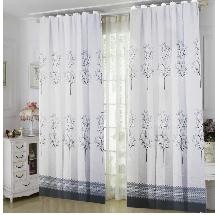 簡約樹木線條-三明治遮光窗簾布315209-窗簾布