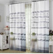 簡單黑白2-三明治遮光窗簾布122536-窗簾布