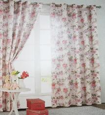 經典不敗鄉村風-窗簾布