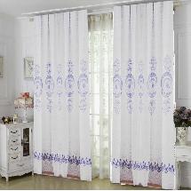 簡單白色藝術-三明治遮光窗簾布141845-窗簾布