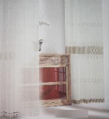 經典尊貴花紋-窗簾布