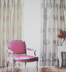 居家奢華二色-窗簾布