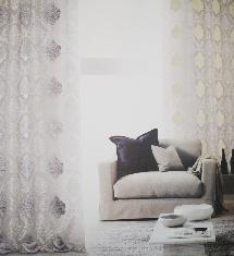 傳統花紋-窗簾布