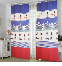 日風居家簡約-三明治遮光窗簾布137965-窗簾布