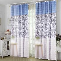 三色簡約花紋-三明治遮光窗簾布315009-窗簾布