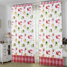 繽紛水果世界-三明治遮光窗簾布213454-窗簾布