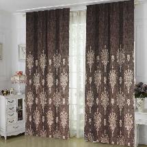 簡單深色藝術-三明治遮光窗簾布231954-窗簾布