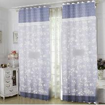 古典花紋4-三明治遮光窗簾布139073-窗簾布