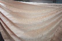 暖暖亮橘古典風-窗簾布