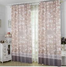 古典花紋3-三明治遮光窗簾布138979-窗簾布