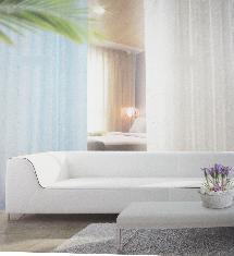 夏日風情二色-窗簾布