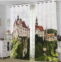 英式城堡-三明治遮光窗簾布110767-窗簾布