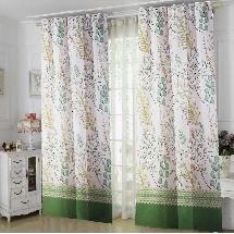 植物藝術-三明治遮光窗簾布213653-窗簾布